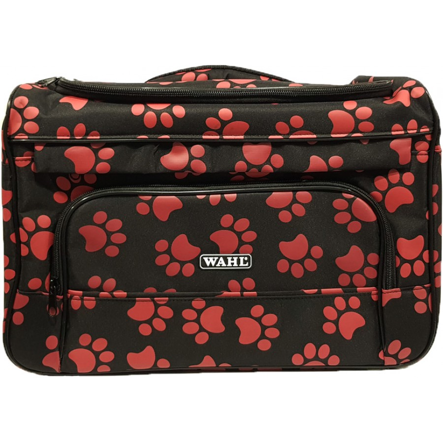Paw Print Zippered Pet Travel Bag