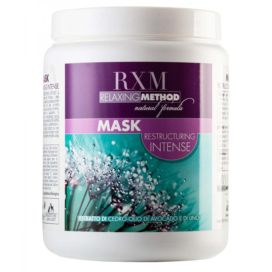 RXM RELAXING METHOD MASK RESTRUCTURING INTENSE | 1Kg