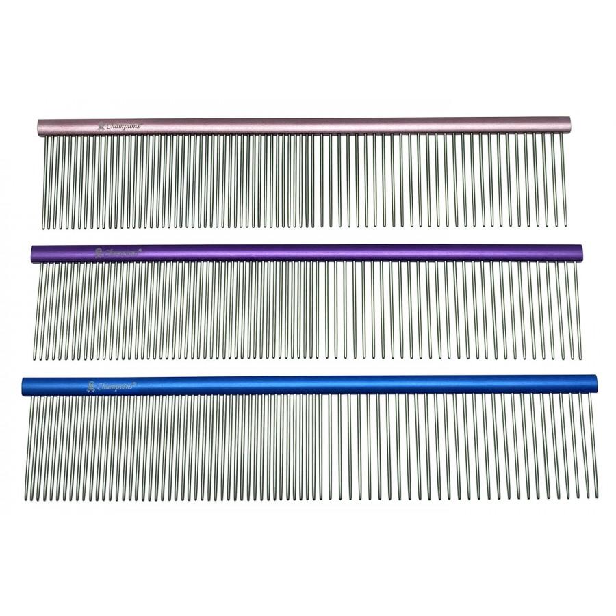 PRÉMIUM 'SUPER LIGHT' ALU FÉSŰ 50/50 fogsűrűség, ovális profil, hossz 18,7 cm, foghosszúság 3,5 cm