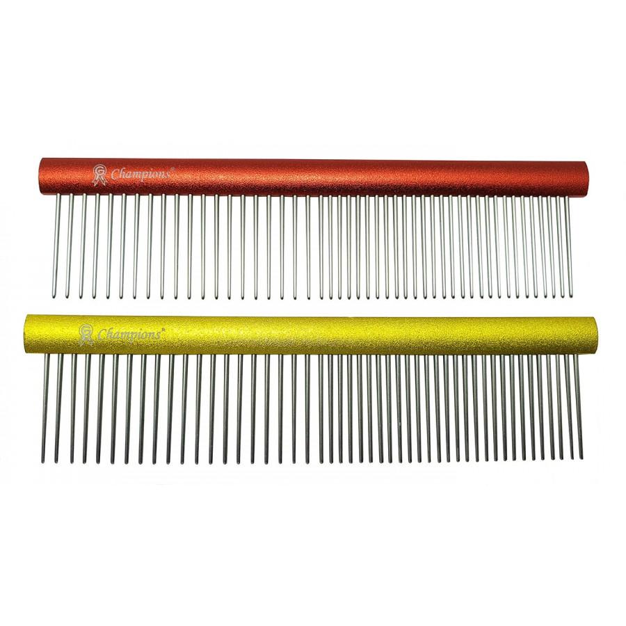 'CLASSIC' ALU FÉSŰ 50/50 fogsűrűség, ovális profil hossz 14,8 cm, foghosszúság 2,8 cm
