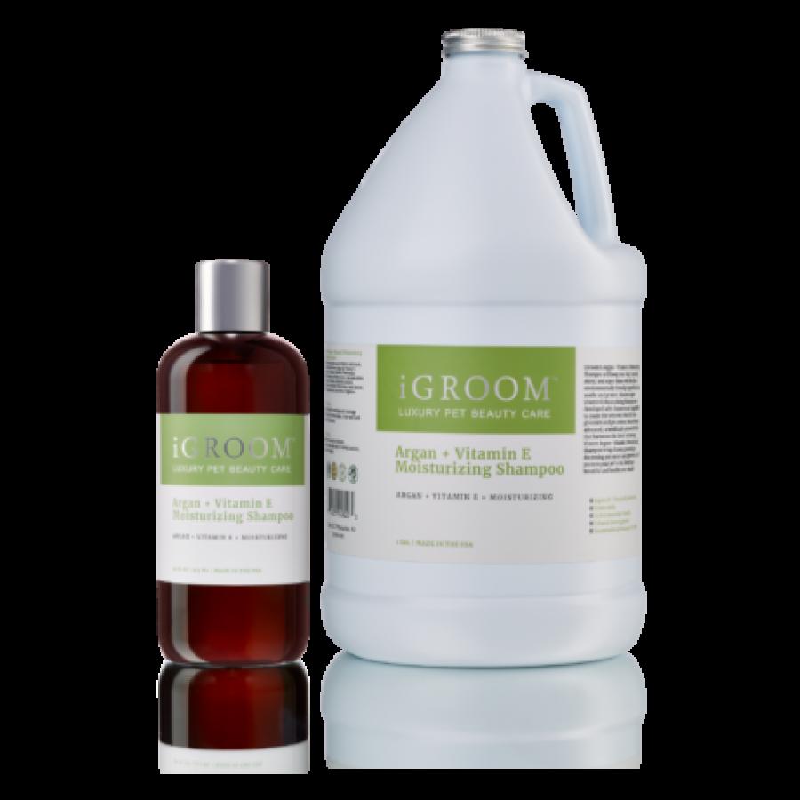 Argan + Vitamin E Moisturizing Shampoo | 3,8L