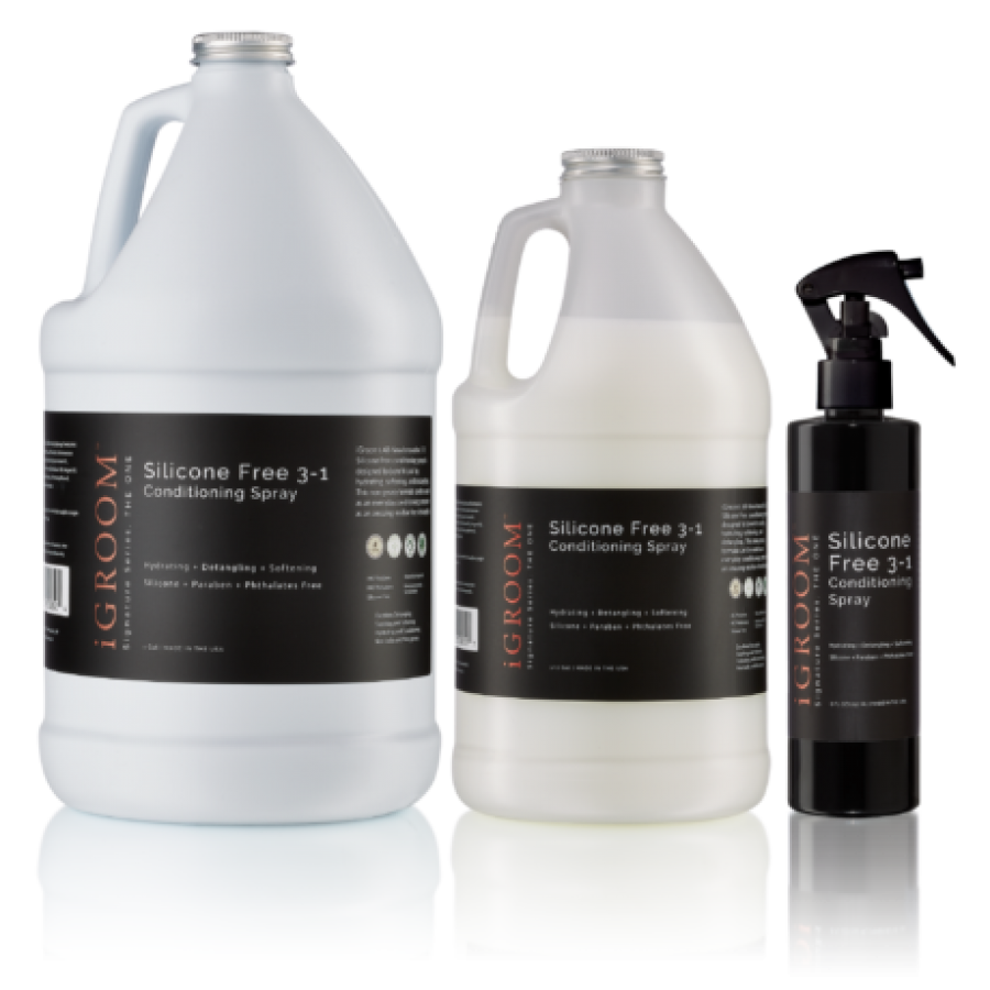 Silicone Free 3-1 Conditioning/Detangling Spray | 236ml